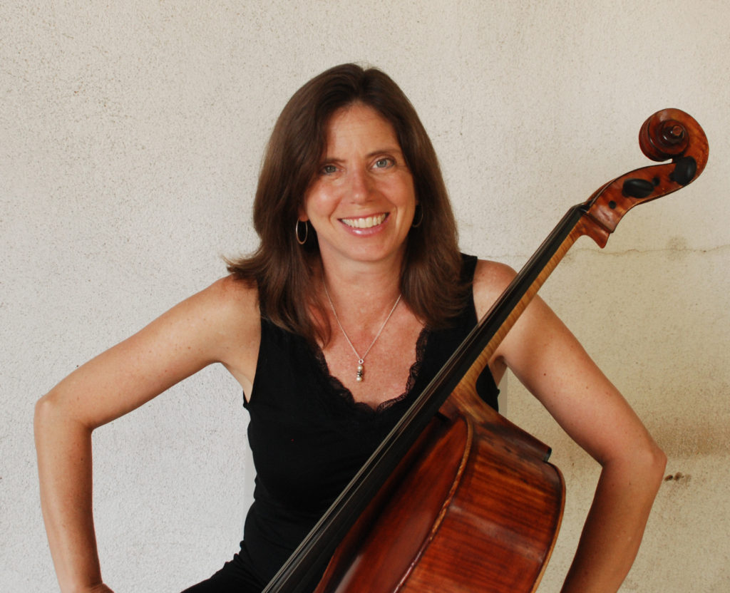 Maggie Parkins, cello