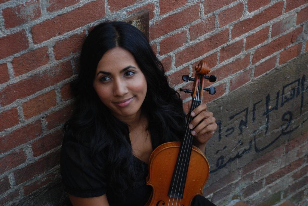 Shalini Vijayan, violin